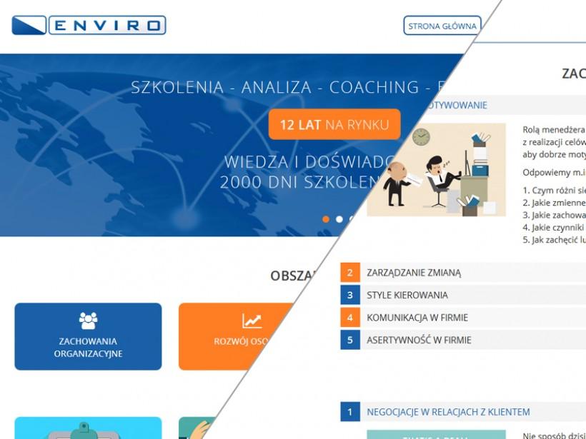 tworzenie stron internetowych Łódź Enviro