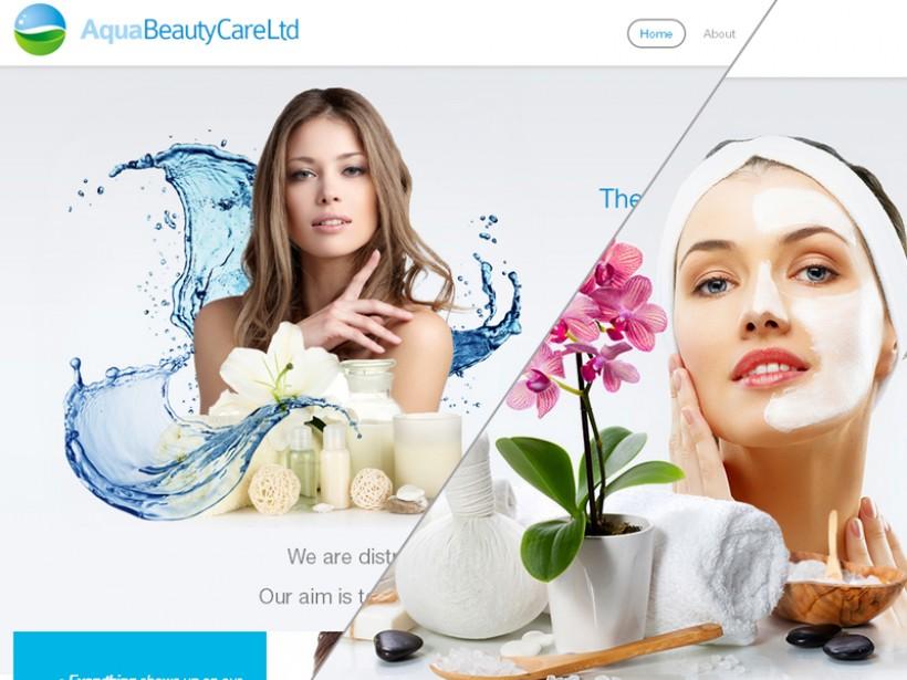 Aqua Beauty Care strony responsywne lodz