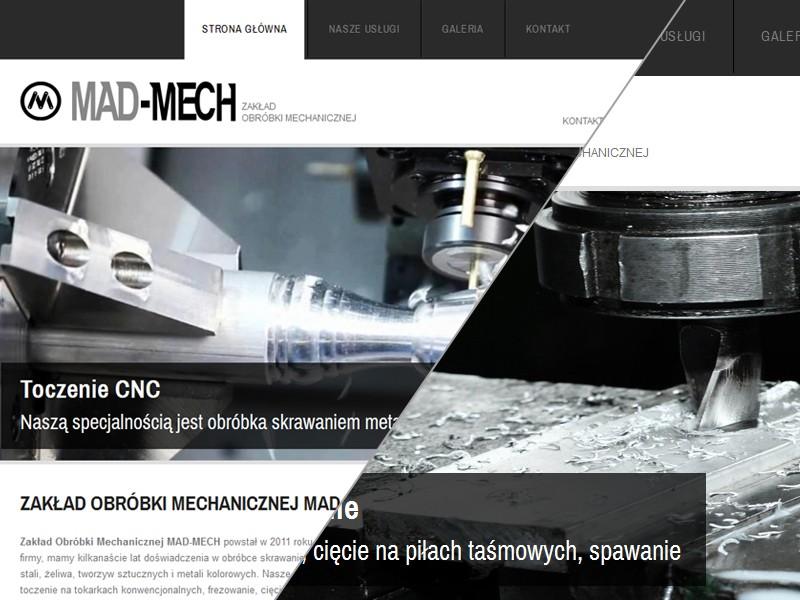MAD-MECH Zakład Obróbki Mechanicznej