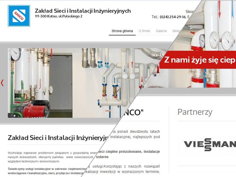 Zakład Sieci i Instalacji Inżynieryjnych SANCO